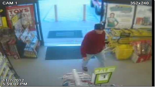Pinehurst Police need help identifying a man who walked into a Dollar General Wednesday and robbed the store at gunpoint. Photo: Pinehurst Police