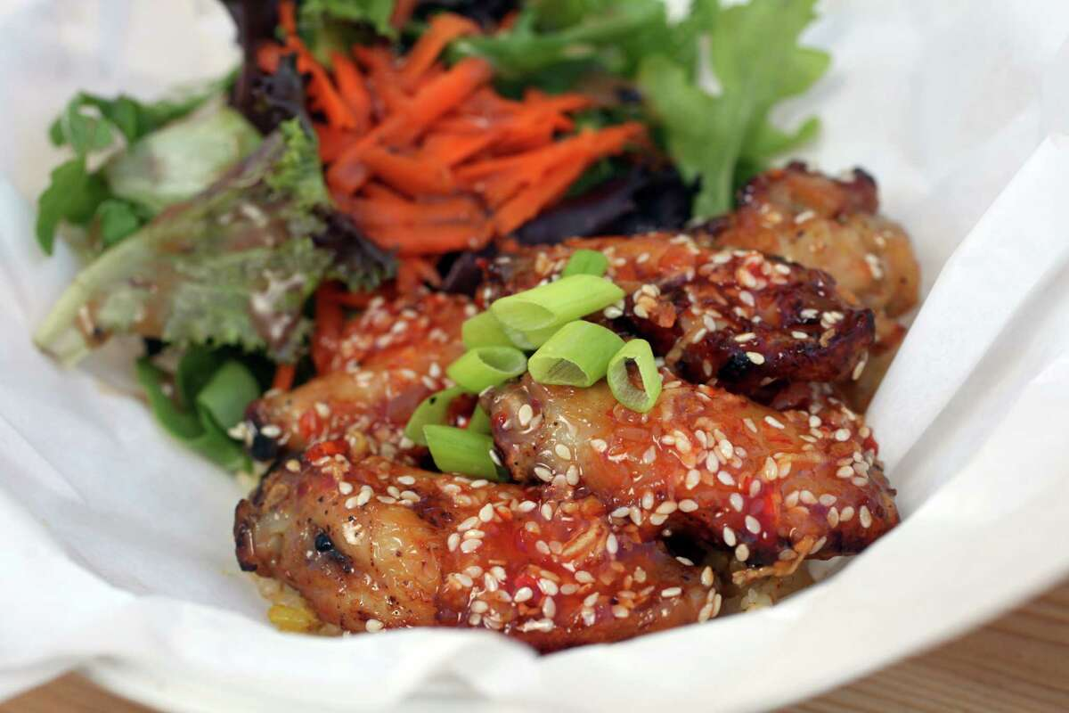 Roasted drumettes from Sweet Yams.