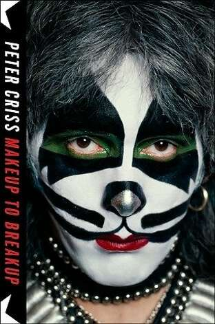 "The full title of Kiss drummer Peter ""Catman"" Criss' autobiography is ""Makeup to Breakup: My Life in and out of Kiss."" Photo: Blue Rider"