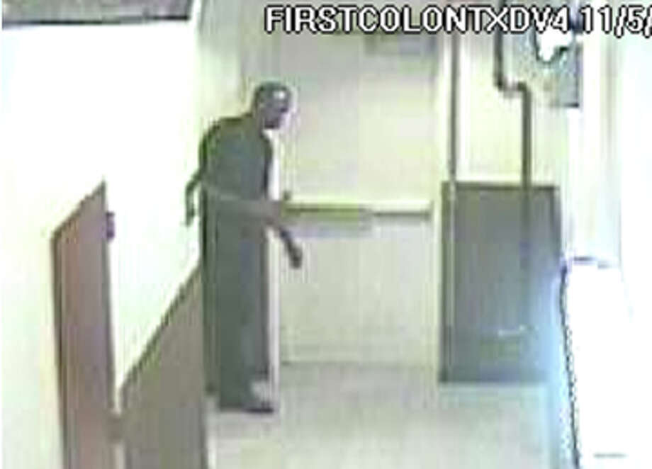 Surveillance photo from First Colony Mall, Nov. 5, 2012. | Sugar Land PD Photo: .