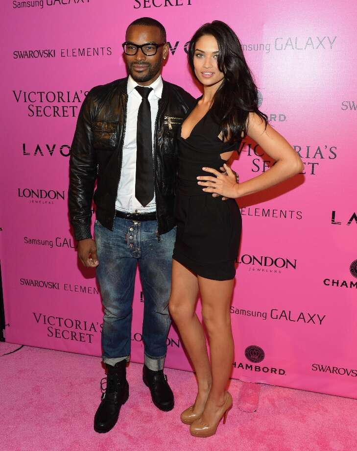 Models Tyson Beckford and Shanina Shaik attend Samsung Galaxy features arrivals at the official Victoria's Secret fashion show after party on November 7, 2012 in New York City.  (Photo by Slaven Vlasic/Getty Images for Samsung Galaxy) Photo: Slaven Vlasic, Getty Images For Samsung Galaxy / 2012 Getty Images