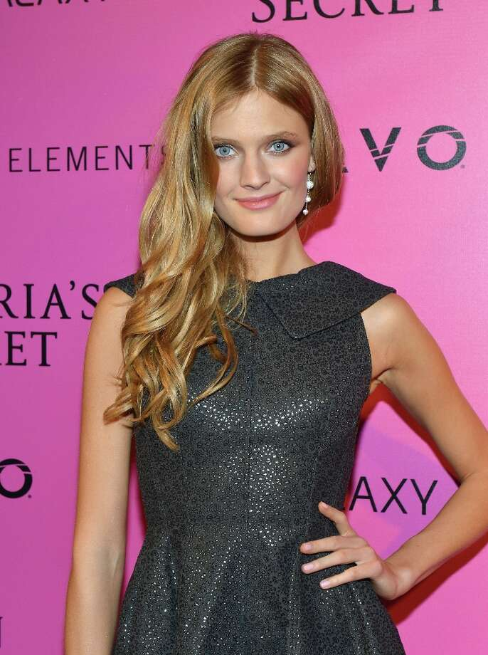 A model attends Samsung Galaxy features arrivals at the official Victoria's Secret fashion show after party on November 7, 2012 in New York City.  (Photo by Slaven Vlasic/Getty Images for Samsung Galaxy) Photo: Slaven Vlasic, Getty Images For Samsung Galaxy / 2012 Getty Images