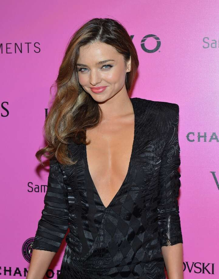Model Miranda Kerr attends Samsung Galaxy features arrivals at the official Victoria's Secret fashion show after party on November 7, 2012 in New York City.  (Photo by Slaven Vlasic/Getty Images for Samsung Galaxy) Photo: Slaven Vlasic, Getty Images For Samsung Galaxy / 2012 Getty Images