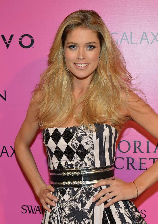 Model Doutzen Kroes attends Samsung Galaxy features arrivals at the official Victoria's Secret fashion show after party on November 7, 2012 in New York City.  (Photo by Slaven Vlasic/Getty Images for Samsung Galaxy) Photo: Slaven Vlasic, Getty Images For Samsung Galaxy / 2012 Getty Images