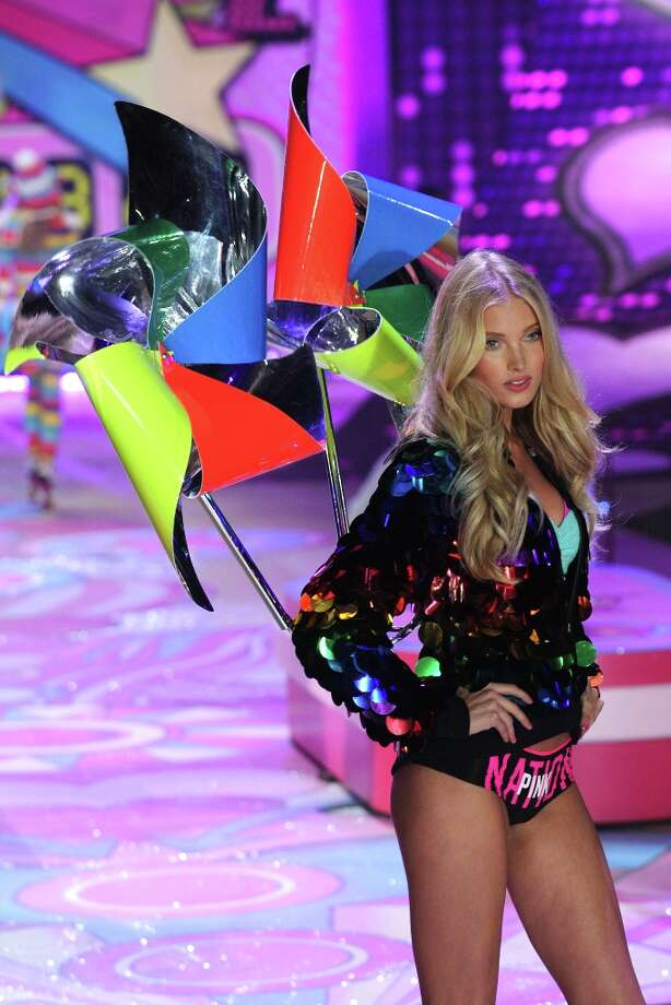 Model Elsa Hosk walks the runway during the Victoria's Secret 2012 Fashion Show on November 7, 2012 in New York City.  (Photo by Bryan Bedder/Getty Images for SWAROVSKI ELEMENTS) Photo: Bryan Bedder, Getty Images For SWAROVSKI ELEME / 2012 Getty Images