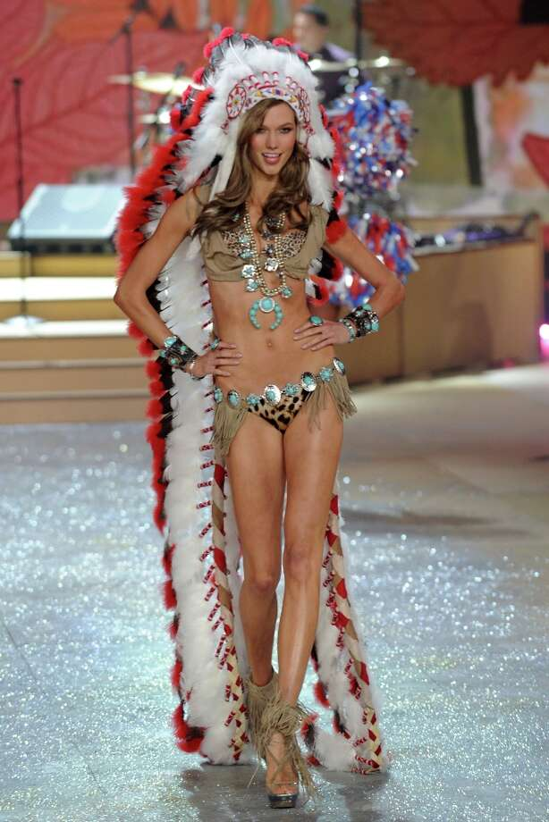 Model Karlie Kloss walks the runway during the Victoria's Secret 2012 Fashion Show on November 7, 2012 in New York City.  (Photo by Bryan Bedder/Getty Images for SWAROVSKI ELEMENTS) Photo: Bryan Bedder, Getty Images For SWAROVSKI ELEME / 2012 Getty Images
