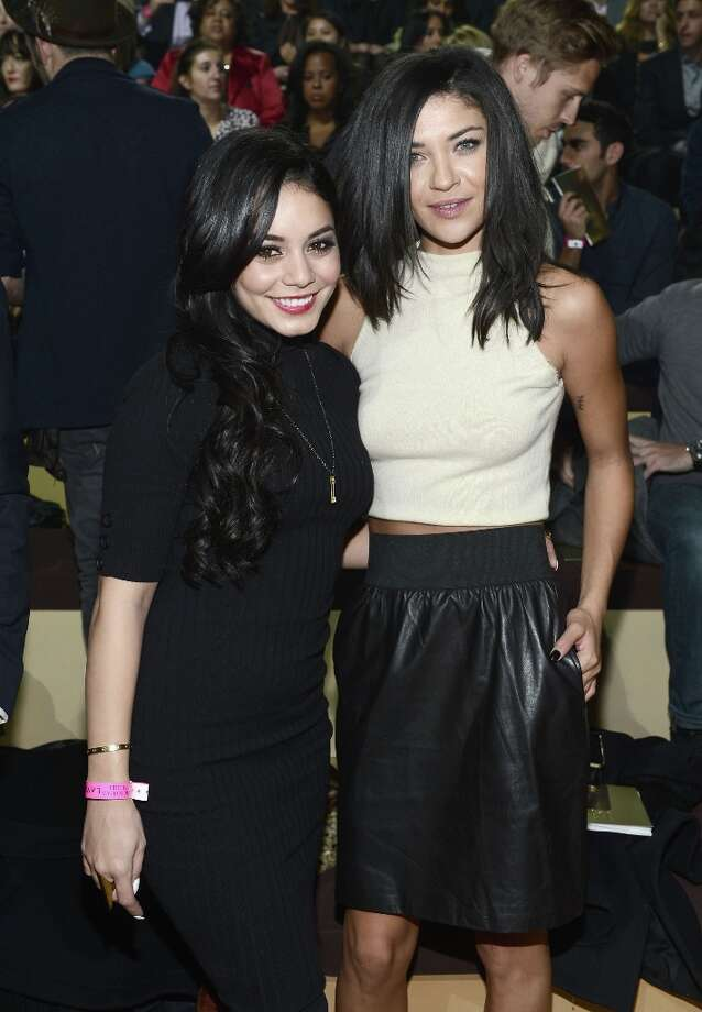 Vanessa Hudgens and Jessica Szohr attend the 2012 Victoria's Secret Fashion Show at the Lexington Avenue Armory on November 7, 2012 in New York City. Photo: Dimitrios Kambouris, Getty Images / 2012 Getty Images