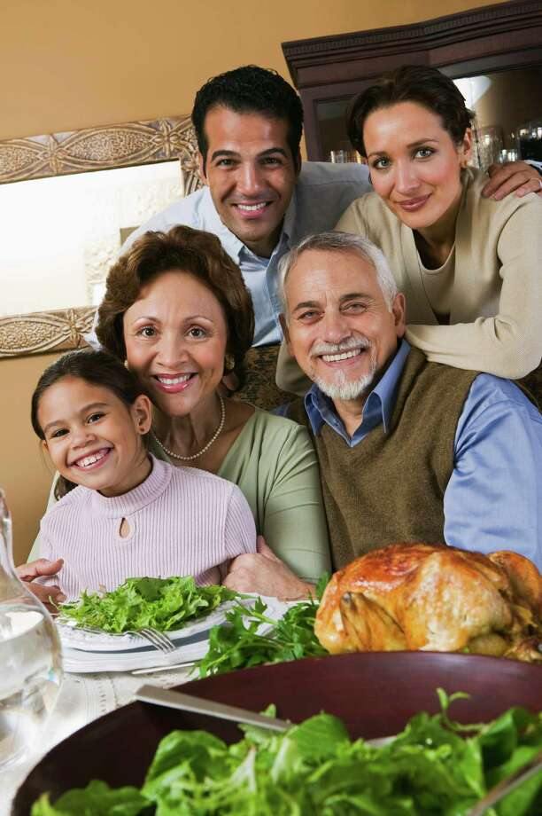 SPECIAL OCCASIONS: Thanksgiving and other holidays are times of celebration and family gatherings. At local senior-living communities, there are many opportunities for residents to continue to celebrate with family, friends and fellow residents. Photo: Jupiterimages / Comstock Images