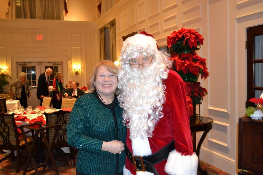 Christmas cheer is evident during an event at The Buckingham.