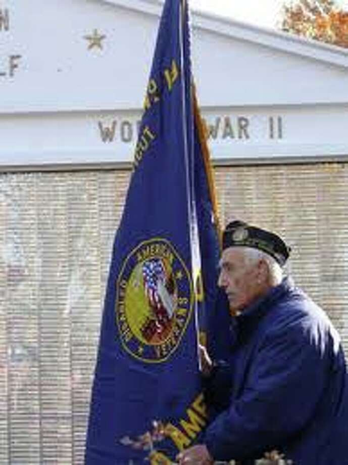 Make sure your weekend plans include the town's Veterans Day salute Saturday at 11 a.m. at the Town Honor Roll. Photo: File Photo / Fairfield Citizen