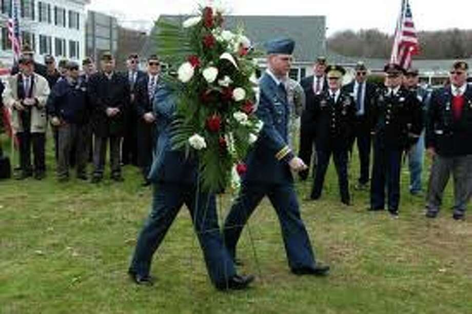 Make sure your weekend plans include the town's Veterans Day salute on Sunday in the Town Hall auditorium. Photo: File Photo / Westport News
