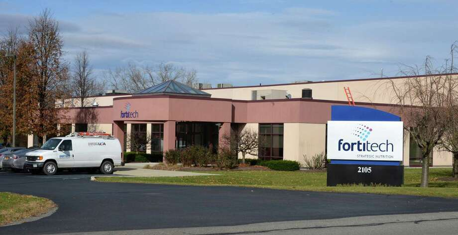 Fortitech Inc. in Schenectady Thursday Nov. 8, 2012. Netherlands-based DSM said it will acquire nutrition supplement manufacturer Fortitech Inc. for $634 million, according to an announcement this morning in the Netherlands. Schenectady-based Fortitech, with 520 employees worldwide, is expected to have $270 million in sales in 2013.  (John Carl D'Annibale / Times Union) Photo: John Carl D'Annibale / 00020030A