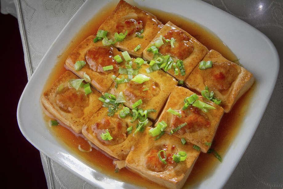 The House Special Pan Fried Tofu at Hakka. Photo: John Storey, Special To The Chronicle / John Storey