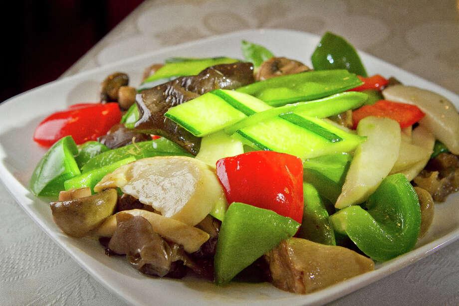 The Sautéed Mixed Mushroom & Fungus at Hakka. Photo: John Storey, Special To The Chronicle / John Storey