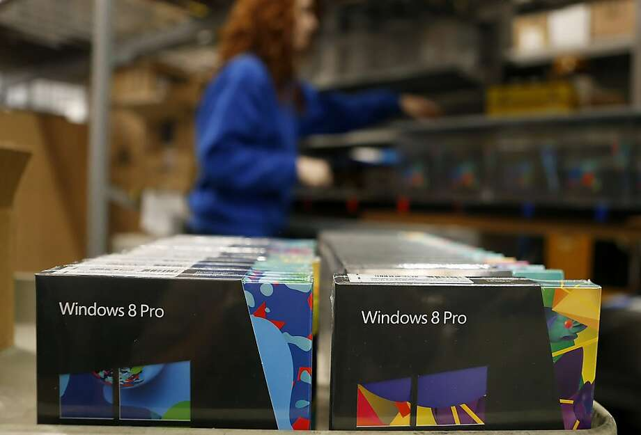 Upgrading from Windows 7 to Windows 8 offers few benefits. Photo: George Frey, Bloomberg