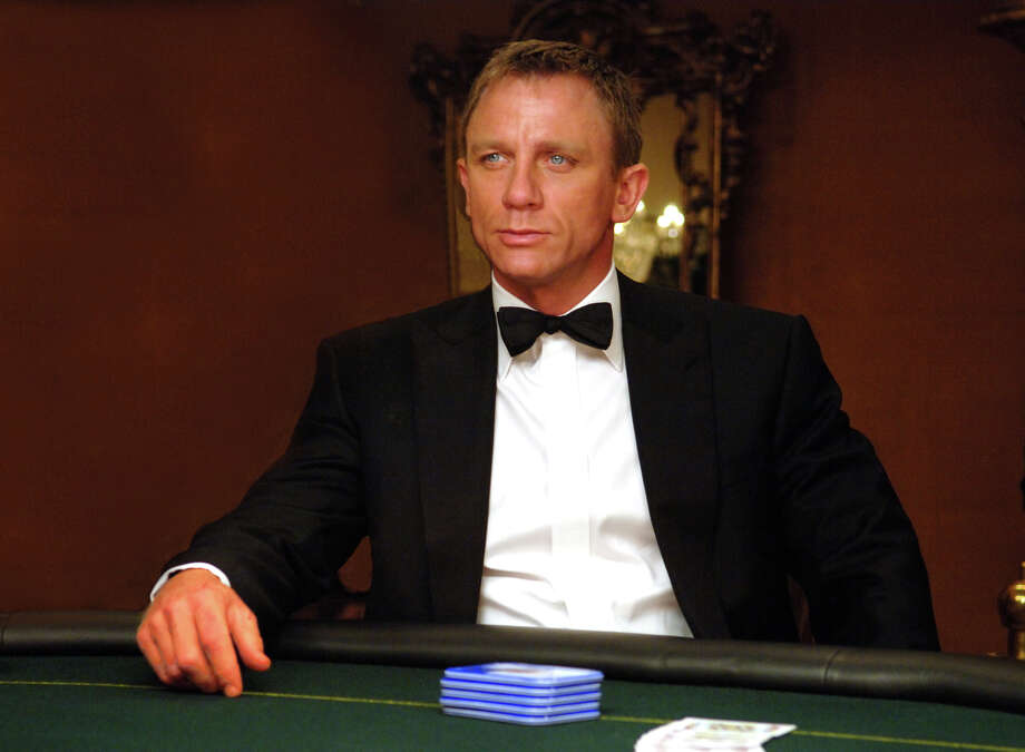 "In this photo provided by Sony, Daniel Craig stars as agent 007 James Bond in ""Casino Royale.""  (AP Photo/Sony Pictures/Jay Maidment) Photo: JAY MAIDMENT / SONY PICTURES"