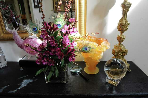 Kathe Birnbaum, an artist and decorator, shows her home in Greenwich Wednesday, Oct. 17, 2012. Photo: Helen Neafsey / Greenwich Time