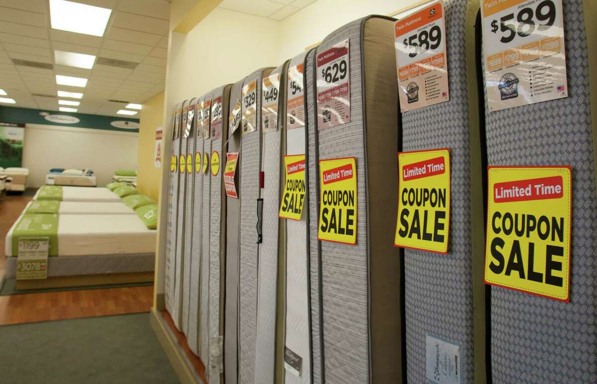 Mattress Firm on Monday, Sept. 24, 2012, in Houston. ( J. Patric Schneider / For the Chronicle )