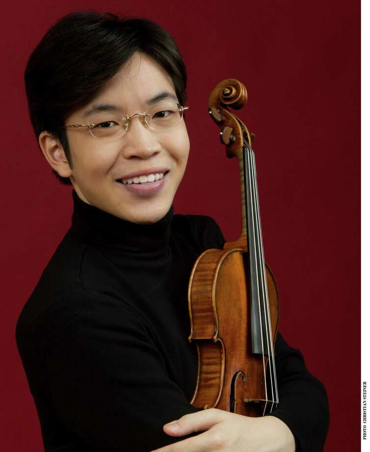Westport-based Music for Youth's Free Young Persons' Concert Series will present a performance by violinist Paul Huang Saturday, Nov. 10, at Pequot Library. Photo: Contributed Photo