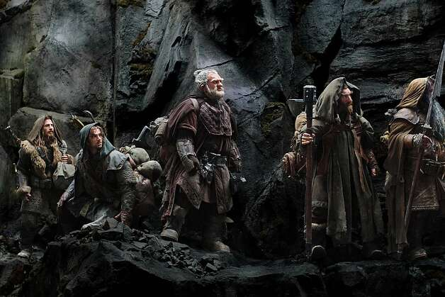 "J.R.R. Tolkien's novel ""The Hobbit"" has been split into three films. The first, ""The Hobbit: An Unexpected Journey,"" opens Dec. 14 Photo: Uncredited, Associated Press"