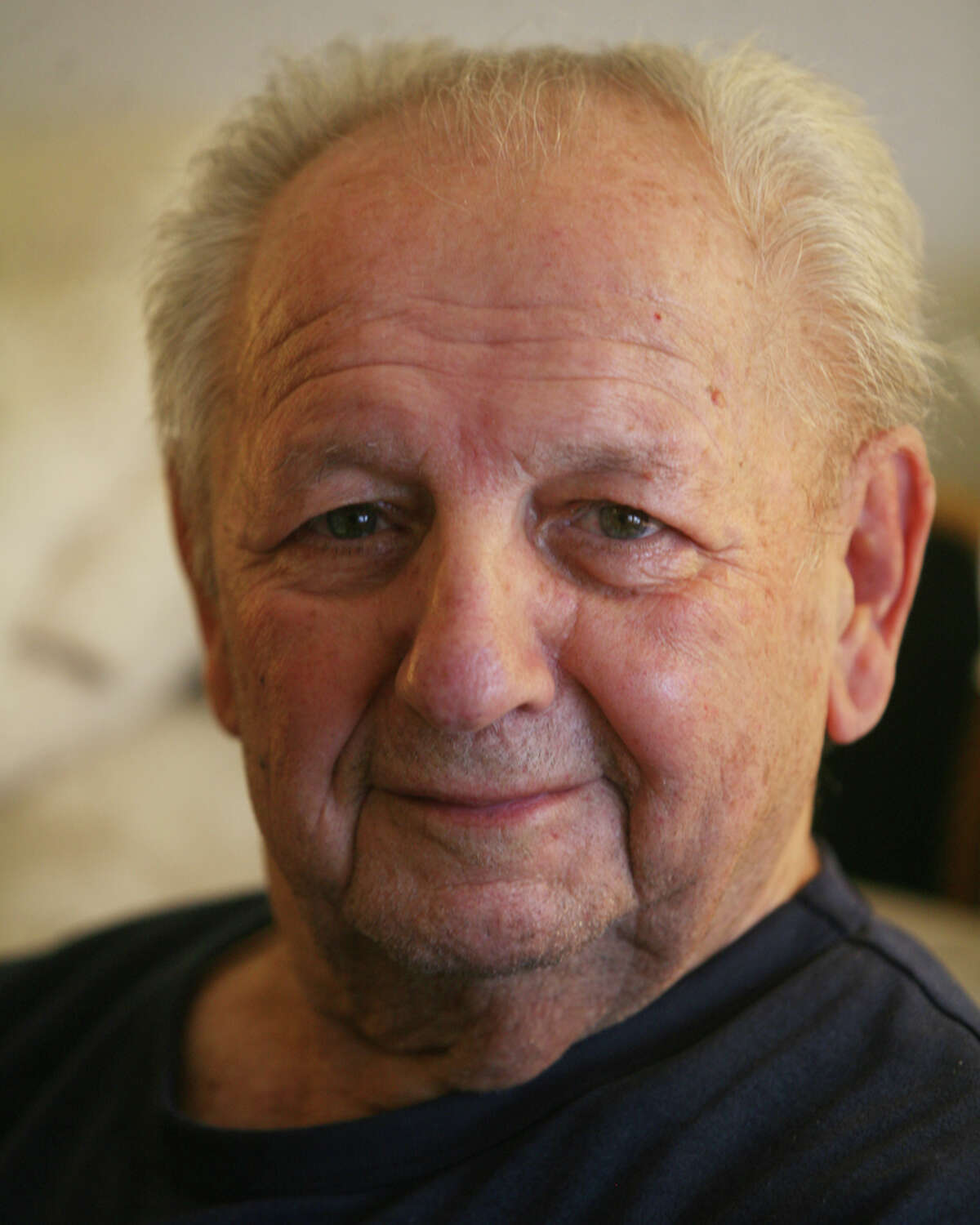 Tony Dinzeo,resident of Bishop Curtis Homes at 1677 Post Road in Fairfield on Thursday, November 8, 2012.