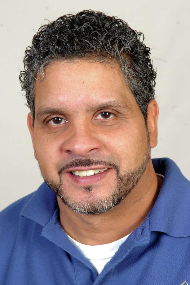 John Maldonado, of Bridgeport, another Light in the Storm, Nov. 7th, 2012. Photo: Ned Gerard / Connecticut Post