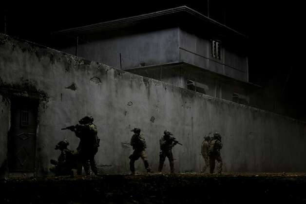 """Zero Dark Thirty,"" director Kathryn Bigelow's follow-up to best picture Academy Award winner ""The Hurt Locker,"" open Dec. 19. Photo: Columbia Pictures"