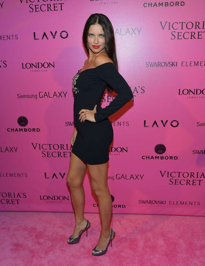 Model Adriana Lima attends Samsung Galaxy features arrivals at the official Victoria's Secret fashion show after party on November 7, 2012 in New York City.  (Photo by Slaven Vlasic/Getty Images for Samsung Galaxy) Photo: Slaven Vlasic, Getty Images For Samsung Galaxy / 2012 Getty Images