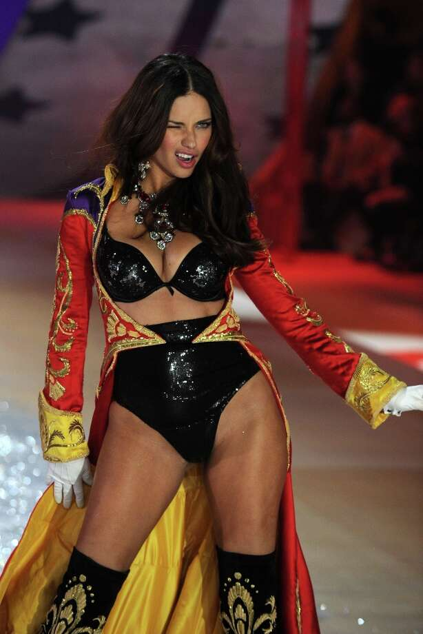 Adriana Lima walks the runway during the Victoria's Secret 2012 Fashion Show on November 7, 2012 in New York City.  (Photo by Bryan Bedder/Getty Images for SWAROVSKI ELEMENTS) Photo: Bryan Bedder, Getty Images For SWAROVSKI ELEME / 2012 Getty Images