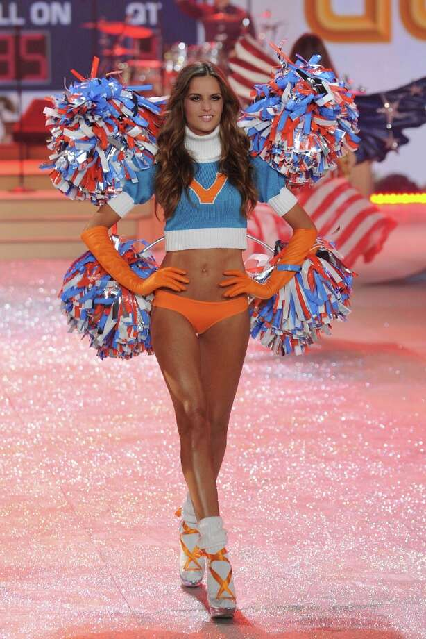 Model  Izabel Goulart walks the runway during the Victoria's Secret 2012 Fashion Show on November 7, 2012 in New York City.  (Photo by Bryan Bedder/Getty Images for SWAROVSKI ELEMENTS) Photo: Bryan Bedder, Getty Images For SWAROVSKI ELEME / 2012 Getty Images