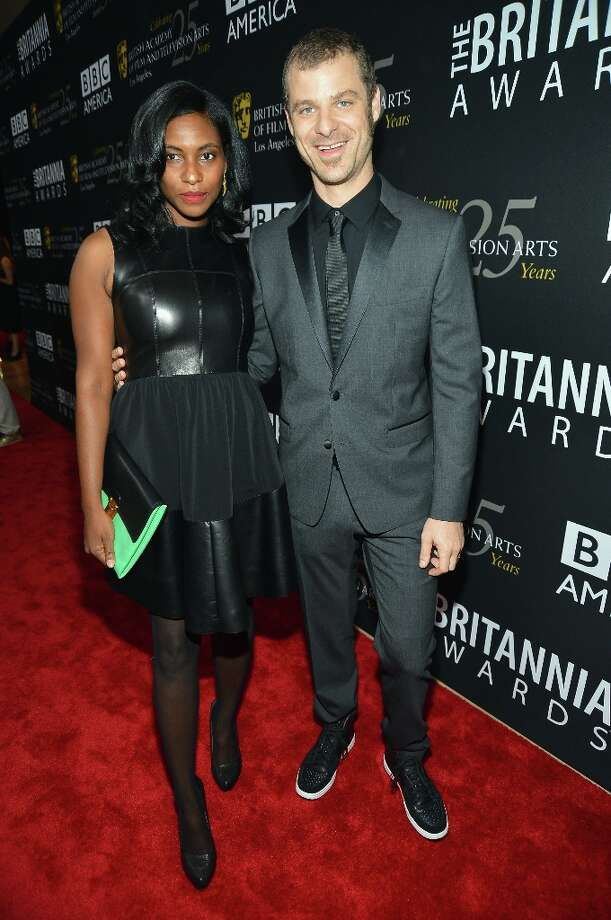 (L-R) Angela Howard and honoree Matt Stone arrive at the 2012 BAFTA Los Angeles Britannia Awards Presented By BBC AMERICA at The Beverly Hilton Hotel on November 7, 2012 in Beverly Hills, California. Photo: Frazer Harrison, Getty Images For BAFTA / 2012 Getty Images