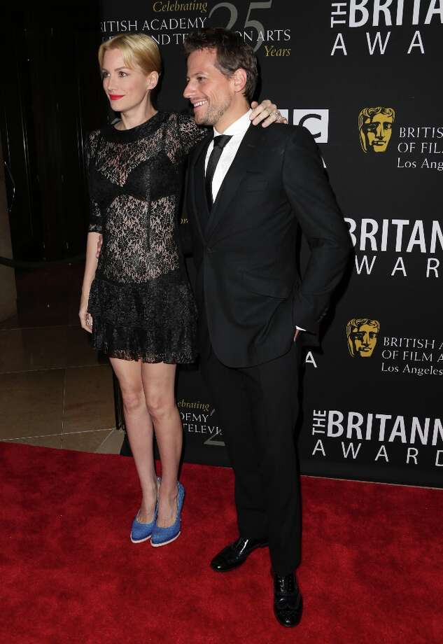 (L-R) Actors Alice Evans and Ioan Gruffud arrive at the 2012 BAFTA Los Angeles Britannia Awards Presented By BBC AMERICA at The Beverly Hilton Hotel on November 7, 2012 in Beverly Hills, California. Photo: Frederick M. Brown, Getty Images / 2012 Getty Images