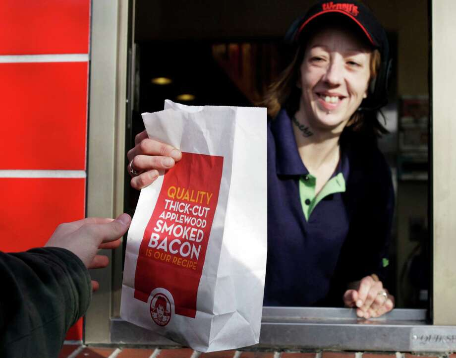 Wendy's drive-thru Photo: Pat Wellenbach, STF / AP