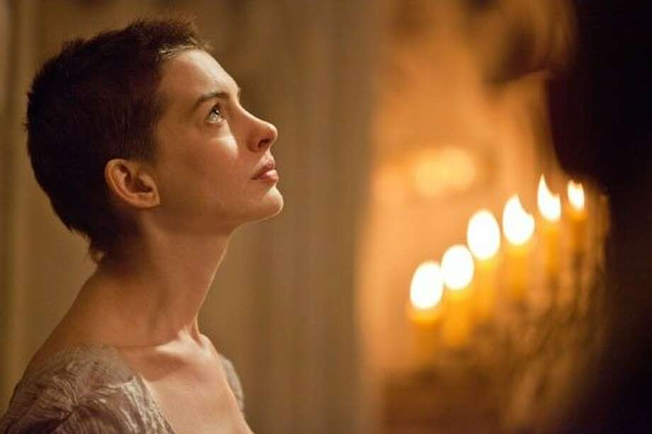 "Anne Hathaway as Fantine in ""Les Miserables"" Photo: Universal Pictures"