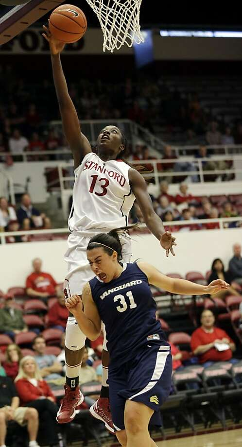 Chiney Ogwumike, now 6-foot-4, is a preseason All-American. Photo: Marcio Jose Sanchez, Associated Press