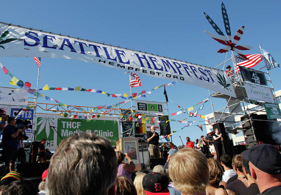 Can't you already legally smoke weed in Seattle? Photo: Joe Dyer/seattlepi.com File