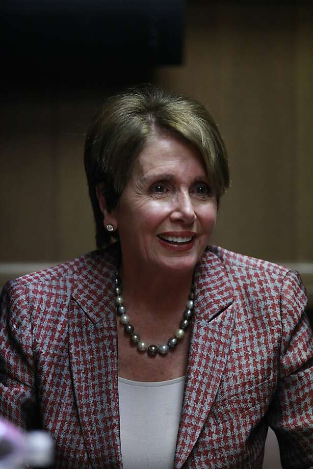 Nancy Pelosi Photo: Mike Kepka, The Chronicle