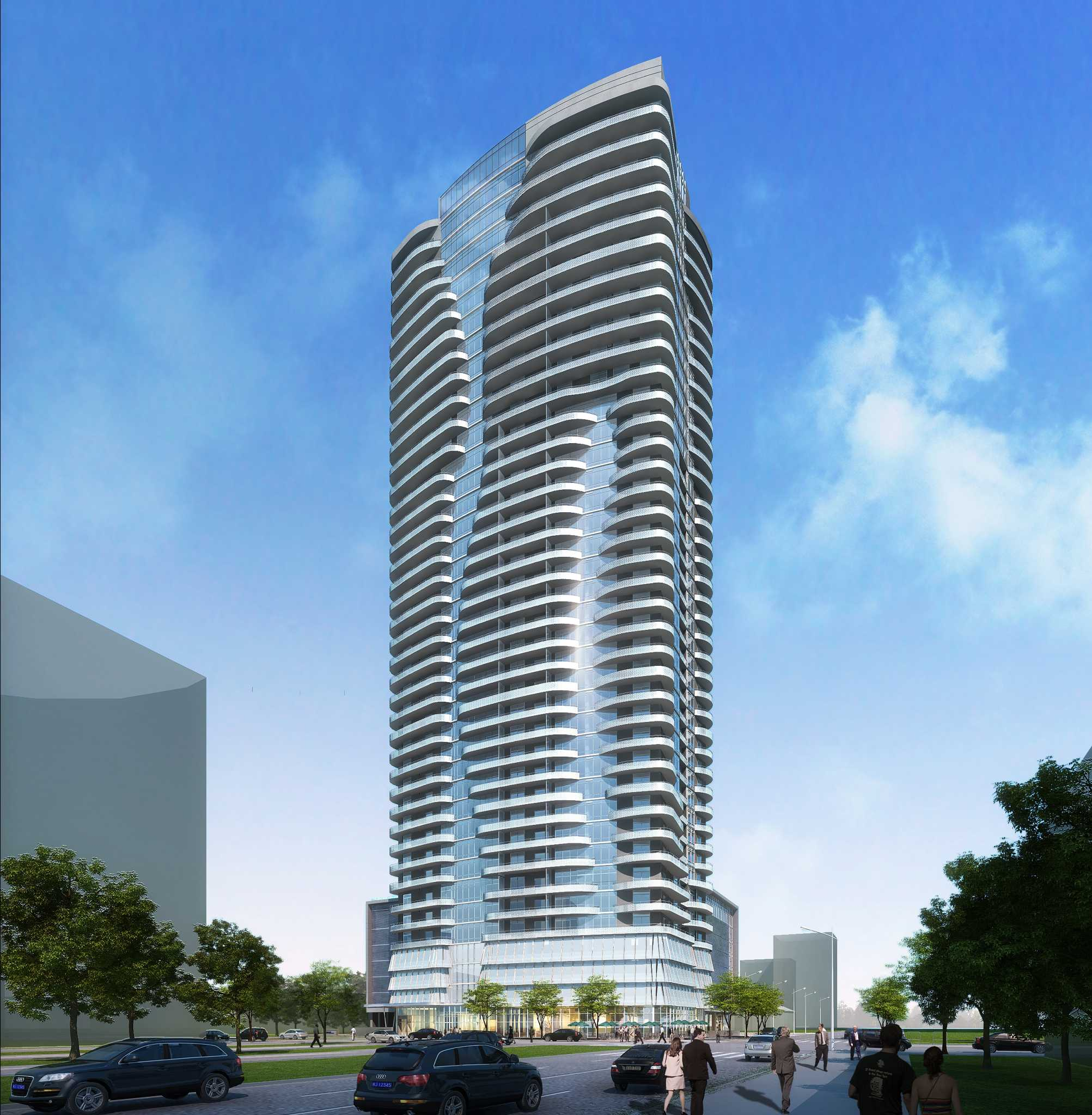 New Apartment Tower To Be Houstons Tallest Houston Chronicle - Cool apartment buildings