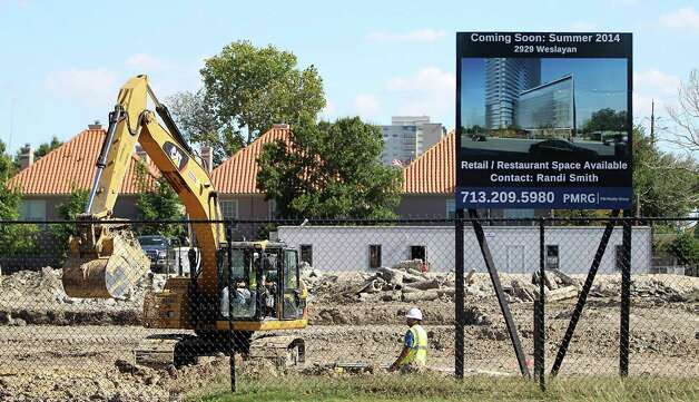 1. The Houston area gained 17,400 construction jobs between October 2011 and October 2012. Photo: Karen Warren, Staff / © 2012  Houston Chronicle