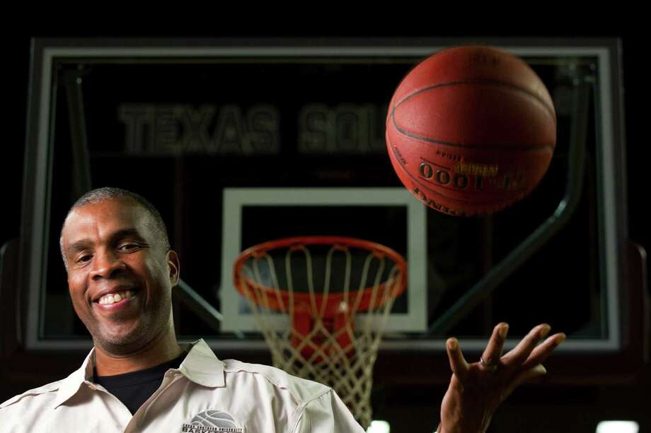 After head coaching stops at Indiana, which included a trip to the Final Four in 2002, and Alabama-Birmingham, Mike Davis says he couldn't be happier with his situation as Texas Southern's new basketball coach. Photo: Brett Coomer, Houston Chronicle / © 2012 Houston Chronicle