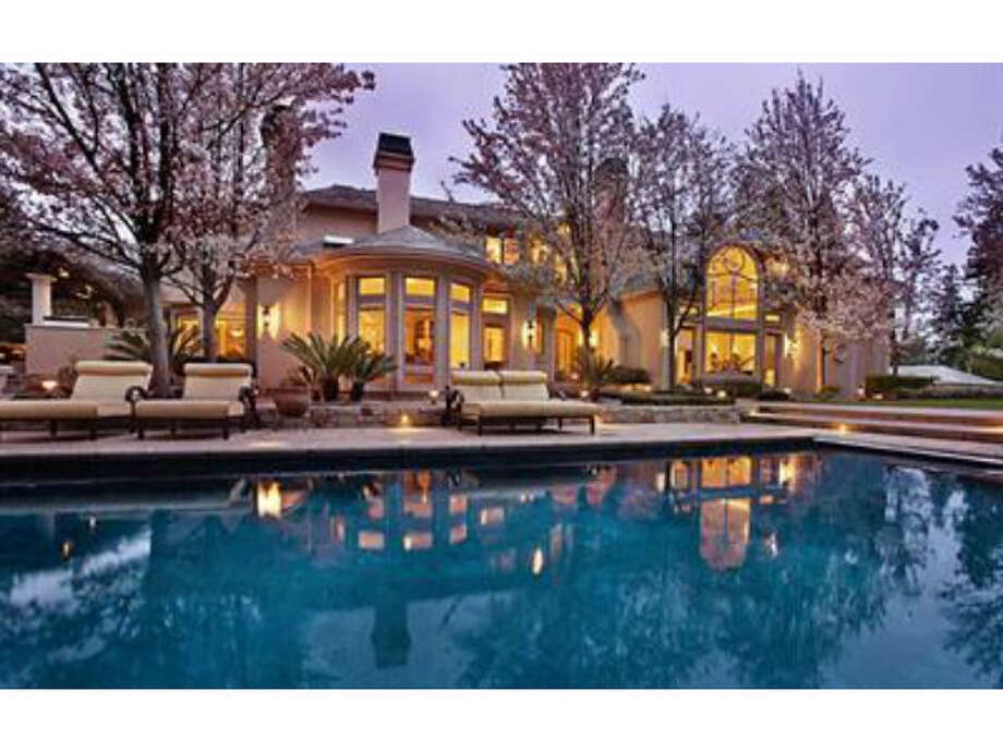 Atherton:  $10.5 million - 7 beds/ 9.5 baths - 13,908 square feet on 1.41 acres (Courtesy of Redfin.com)