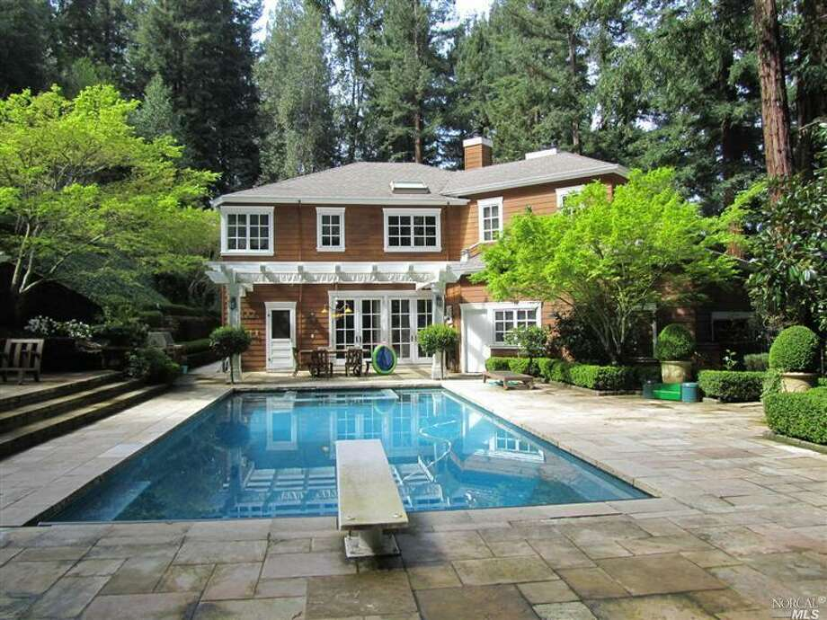Ross:  $7.625 milion: 4 beds/ 5 baths - 4,921 square feet on 4.35 acres (Courtesy of Redfin.com)