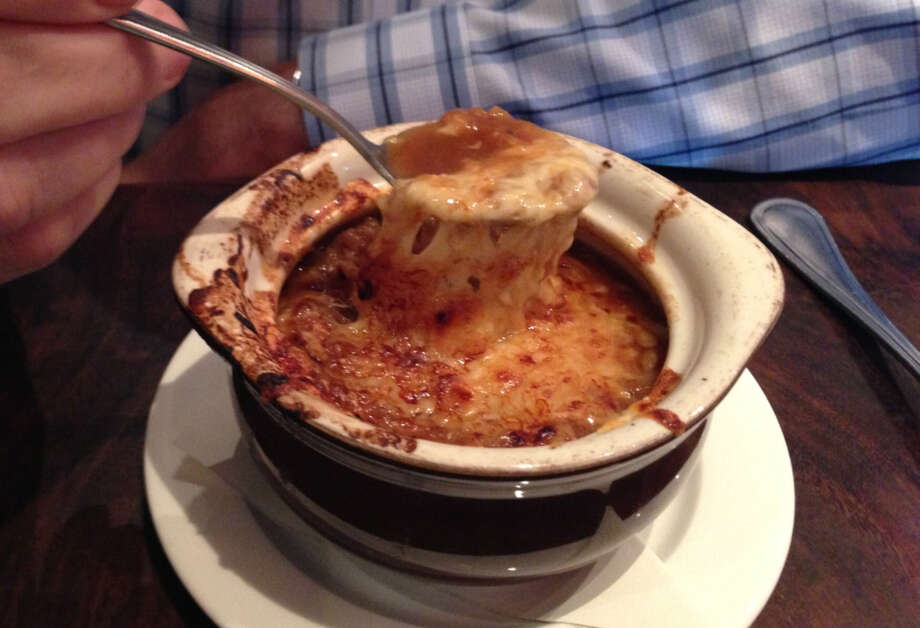 French onion soup from Absinthe