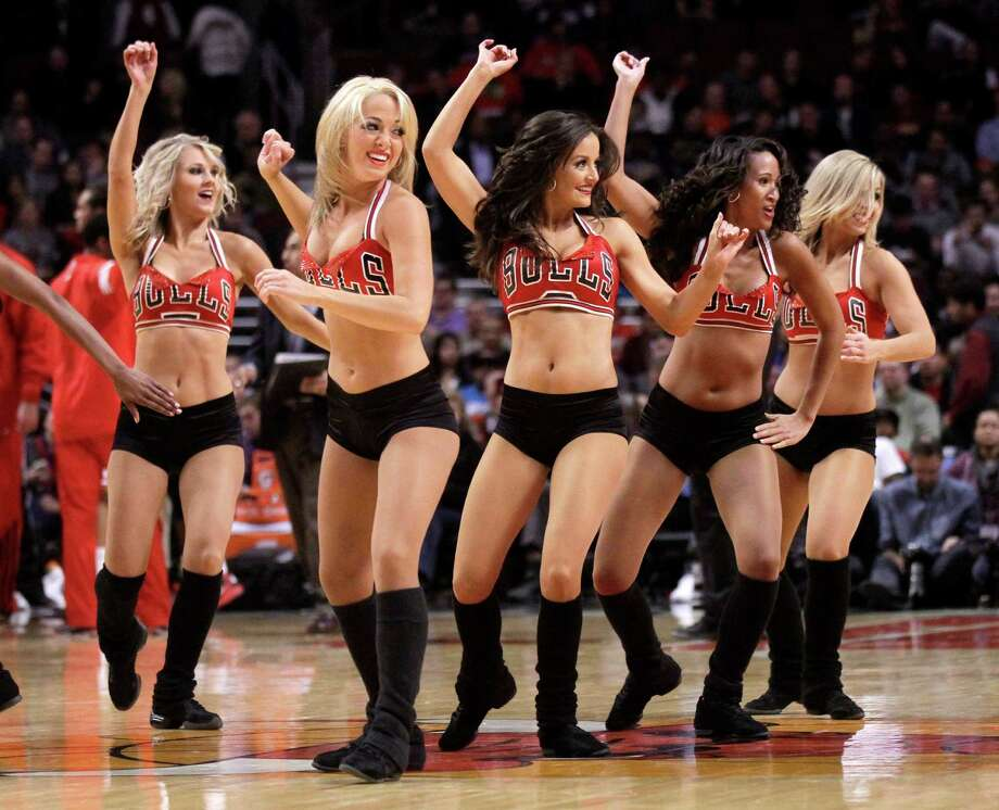 Winters in Chicago can be bitterly cold, but the United Center is always warm thanks to the Luvabulls. Photo: Charles Rex Arbogast, Associated Press / AP