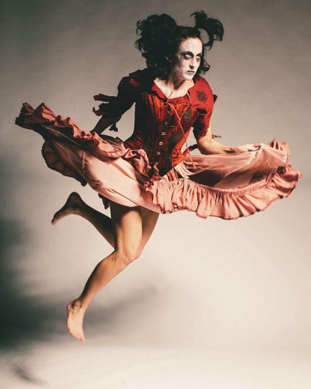 "Toni Leago Valle was among the performers in Karen Stokes Dance Company's ""Vine Leaf Dances"" at Barnevelder Theater in November."