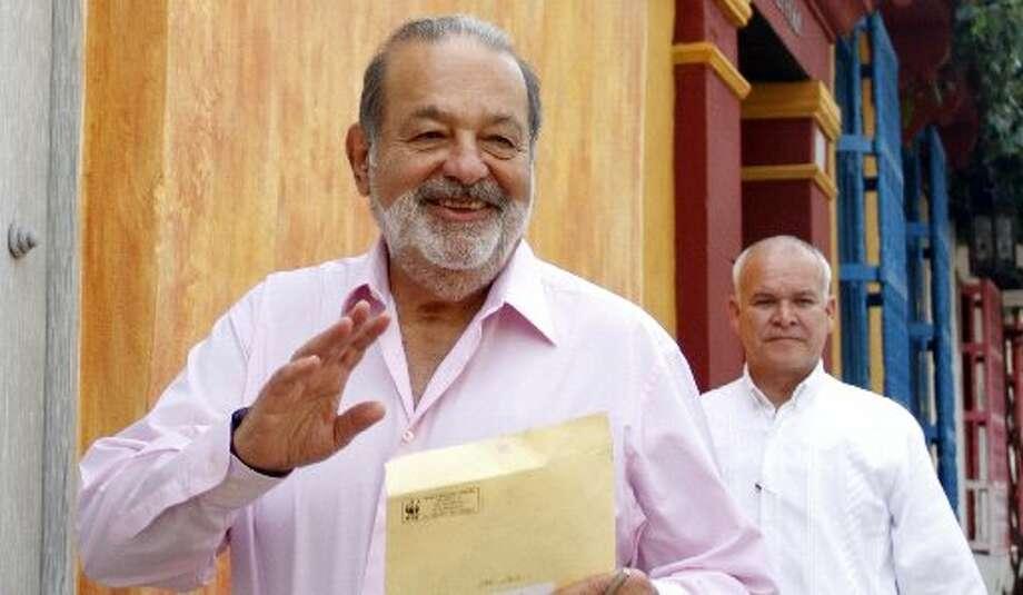 1. Carlos SlimNet worth: $73 billionWhy he's so rich: He's a Mexican telecom mogul.