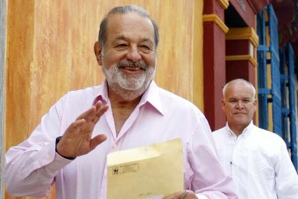 No. 1   My name:  Carlos Slim  My worth:  $77.5B  How I made my nut:  Telecommunications   I am this many:  72 (Getty Images)