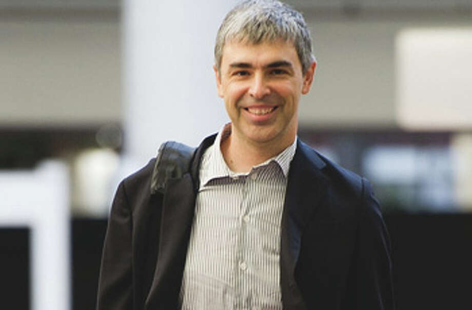 Larry Page, Google co-founderLikeSergey Brin, Page makes a $1 a year, but he has plenty of stock options.Source:CNNMoney Photo: David Paul Morris, Bloomberg / © 2011 Bloomberg Finance LP