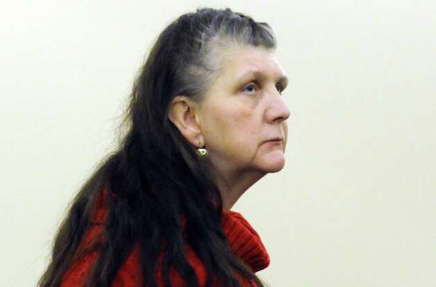 LuAnn Burgess, the 55-year-old Voorheesville woman accused of killing three people with her runaway SUV, at Albany County Court in Albany, NY Friday Nov. 9, 2012. (Michael P. Farrell/Times Union) Photo: Michael P. Farrell
