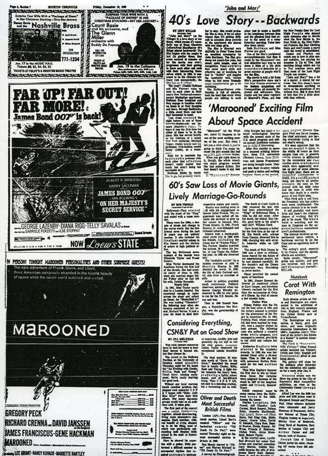 Dec. 19, 1969, Houston Chronicle